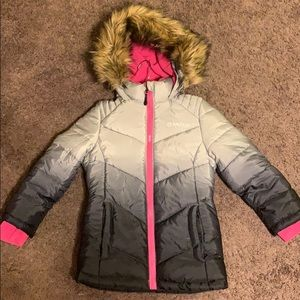 Girls Magellan puffer coat/Parka Sz 7